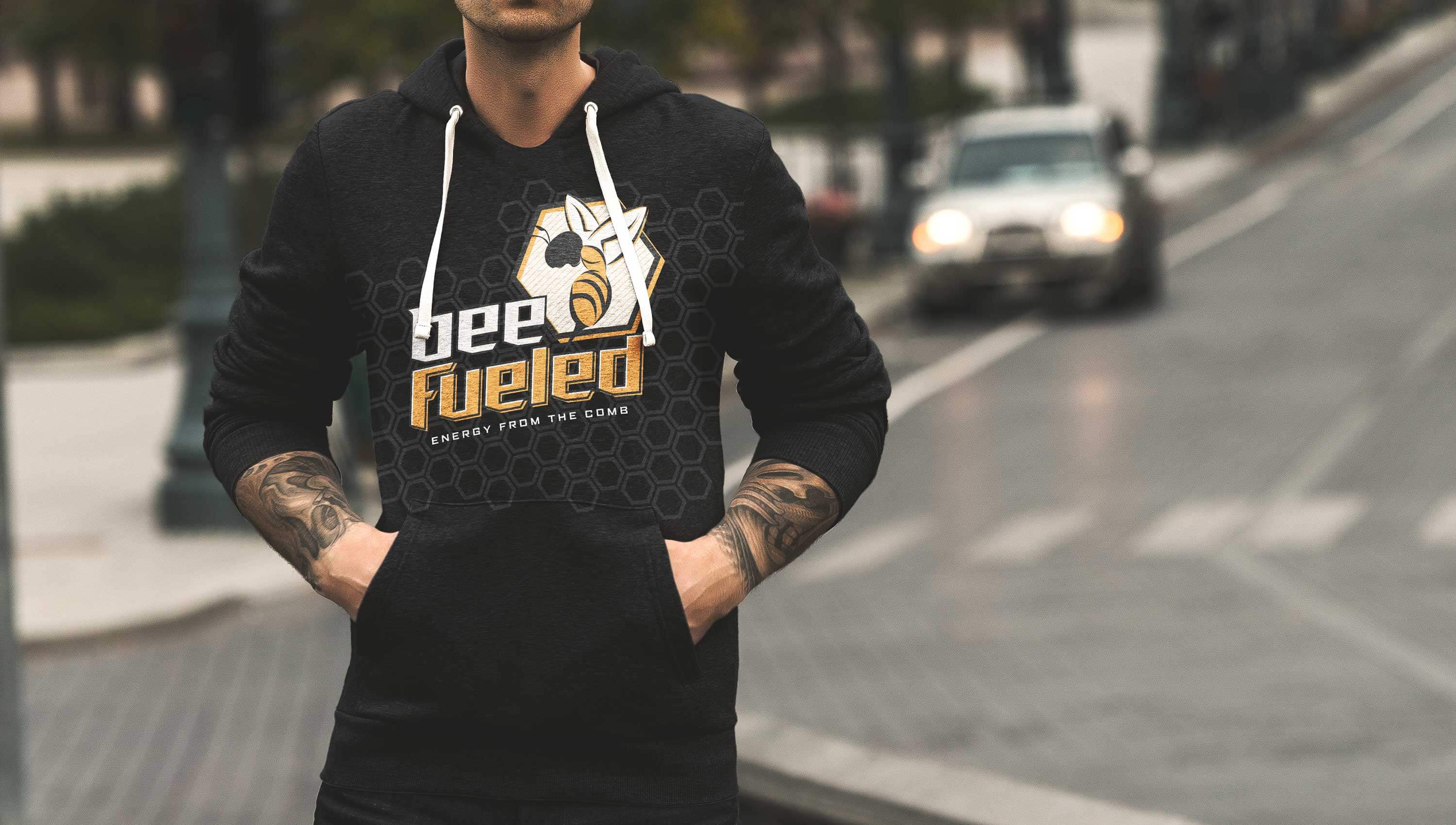 Bee Fueled apparel.