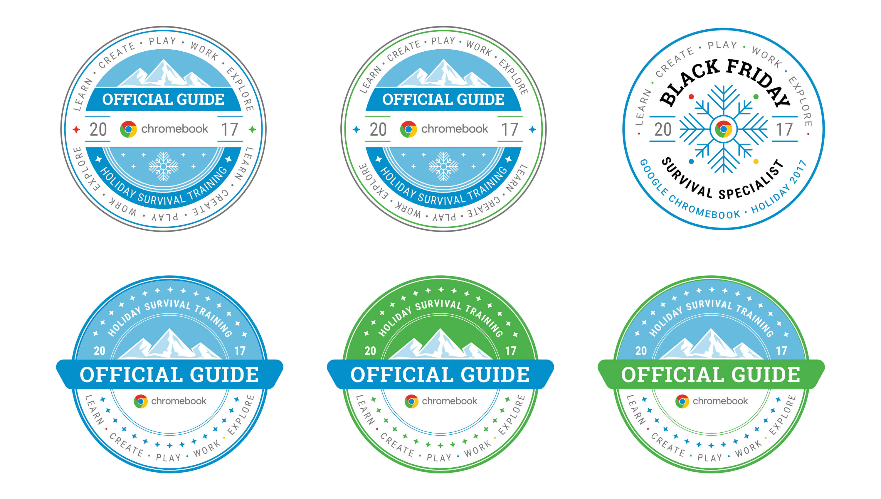 Google badge design for Retail Sales Associates.